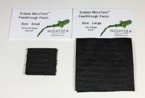 Feedthrough patches for Eclipse MicroTent