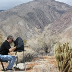 High noon in the desert - fluorescence microscopy with the Eclipse MicroTent and SFA Battery Pack