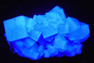 Fluorite, fluorescence