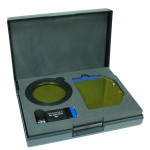 Light+Filter Set, showing light head, barrier filter, and filter shield