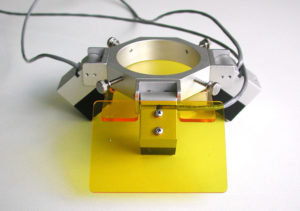 Early prototype fluorescence adapter