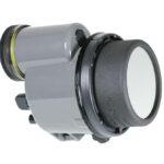 NIGHTSEA excitation filter mounted on Inon Z-330 flash