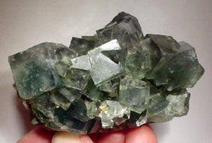Fluorite, white light