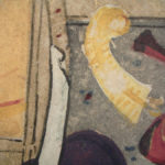 Detail of 17th century Indian painting, white light. #2006.262