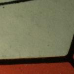Comic book cover detail, white light
