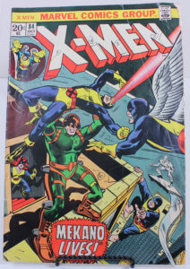 Cover of X-Men comic book from 1984